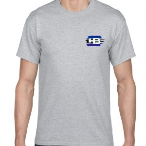 Inked Short Sleeve Fitted Cotton Tee